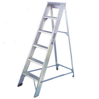 Step Ladder - Aluminium